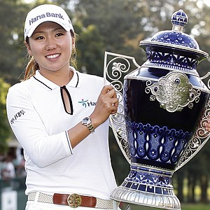 In-Kyung Kim after winning the Lorena Ochoa Invitational.