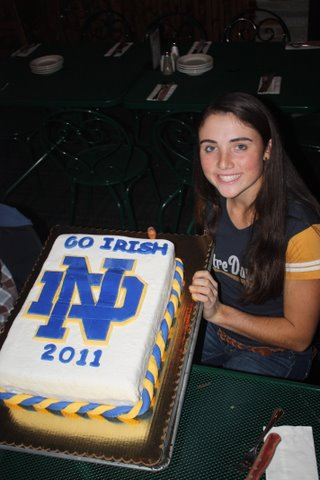 Ashley Armstrong signed with Notre Dame.