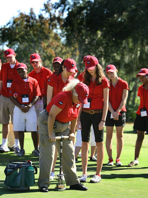 Students of the First Tee at Disney
