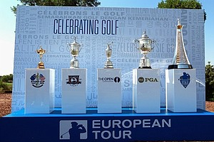 European Tour players in 2010 dominated the global golf scene with victories at the Ryder Cup, the U.S. Open, PGA Championship and Open Championship.