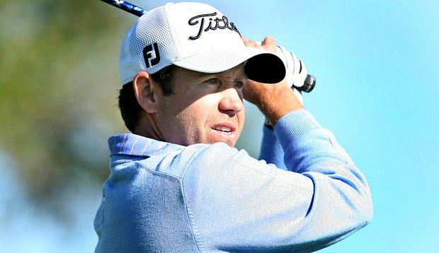 Erik Compton during the first round of PGA Tour Q-School.