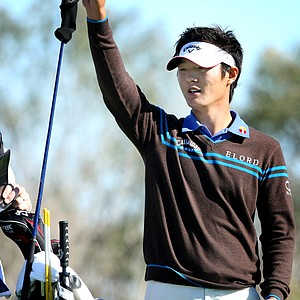 Danny Lee at No. 9 on Crooked Cat. Lee shot a first round 74. Outlook for 2011: Like many players on the Nationwide Tour, Lee is trying to get his career back on track. He won the 2008 U.S. Amateur, then became the youngest winner in European Tour history with his victory at the '09 Johnnie Walker Classic. He had a dismal 2010 on the European Tour, posting just one top 25. Lee has made three of four cuts in Europe this year, and is planning on playing the Nationwide Tour's first three events.