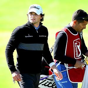 Kyle Stanley during PGA Tour Q-School.