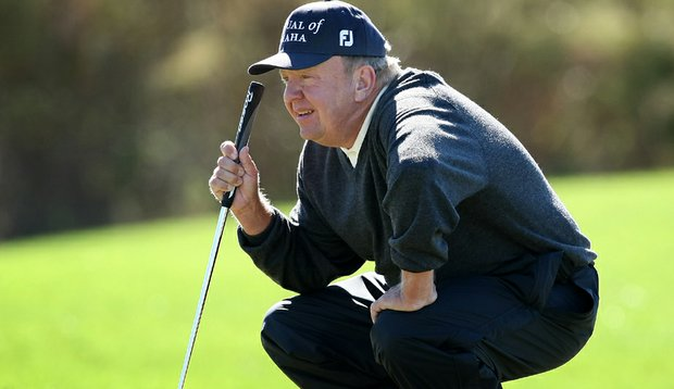 Billy Mayfair during the third round of PGA Tour Q-School.