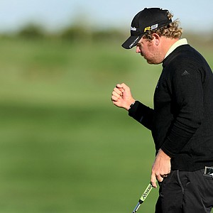 William McGirt tied for second during the final round.