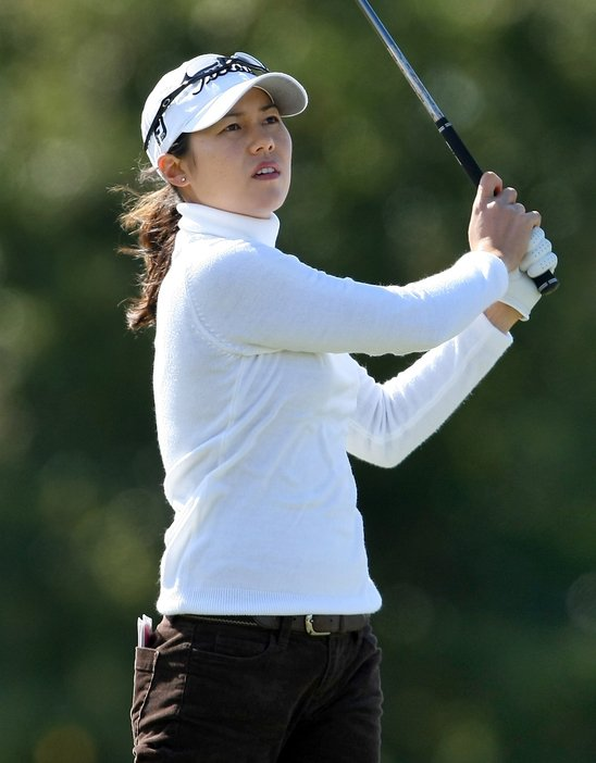 Aree Song during Round 2 of LPGA Q-School.
