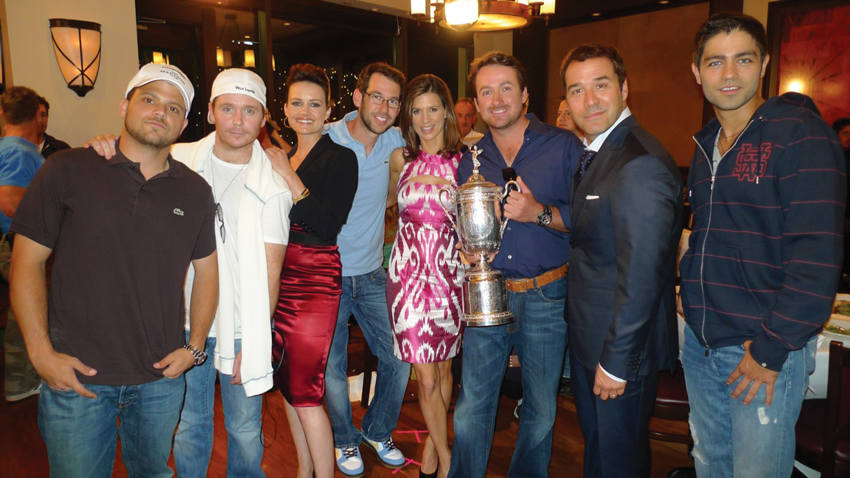 Graeme McDowell's victory at the U.S. Open lands him a guest appearance on the set of HBO's 'Entourage' show.