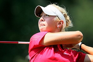 Jessica Korda shot a third-round 66 at LPGA Q-School.