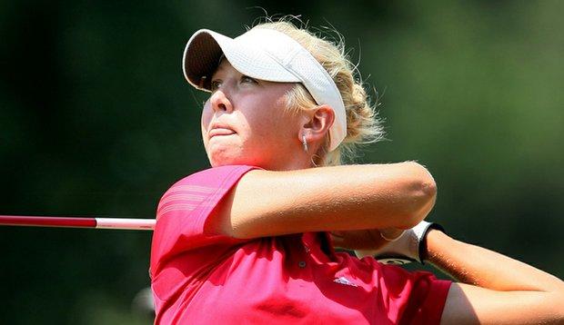 Jessica Korda shot a third-round 66 at LPGA Q-School.