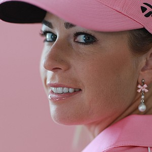 LPGA player Paula Creamer poses for a portrait at the Isleworth Country Club on December 9, 2010 in Windermere, Florida.
