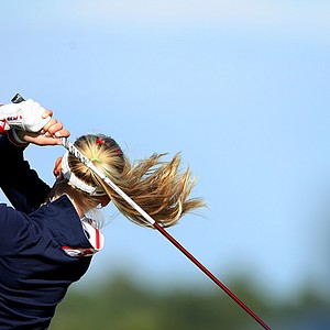Jessica Korda at No. 1 during the final round qualifying tournament.