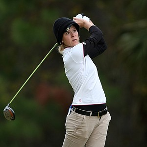 Sarah Brown of New Jersey during the final round of LPGA Final Qualifying Tournament.