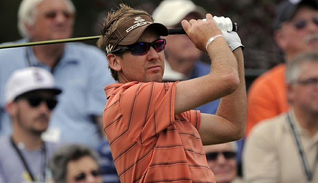 Ian Poulter at the Chevron World Challenge.