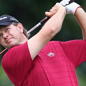 Retief Goosen during the first round of the South African Open.