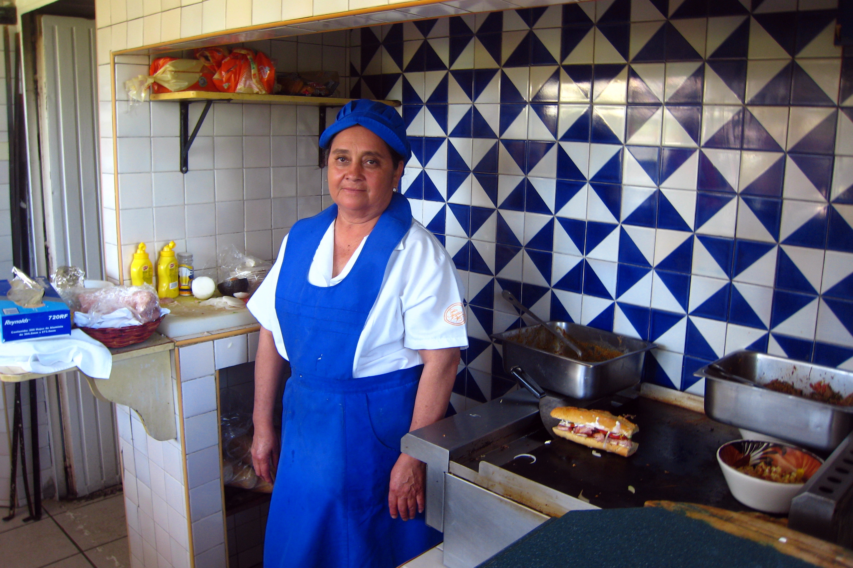 Angelita Rodriguez, who is one of many touched by the kindness of Lorena Ochoa.