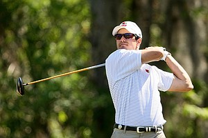 Adam Hadwin of the University of Louisville during the Rio Pinar Invitational at Rio Pinar Country Club in Orlando, Fla.
