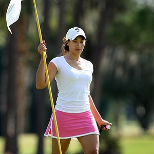 Cheyenne Woods, niece of Tiger Woods, shot an opening round of 67 and is T3.