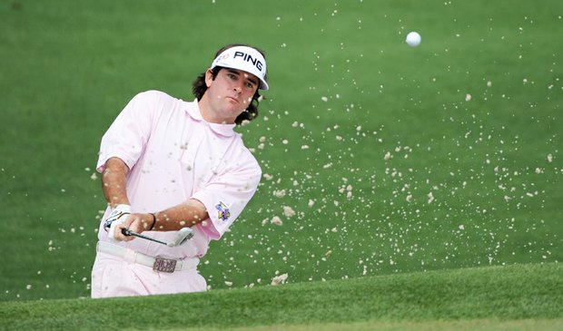Bubba Watson during the 2009 Masters.