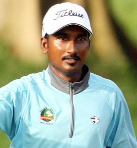 Malaysian S. Siva Chandhran topped the Asian Development Tour's inaugural Order of Merit in 2010.