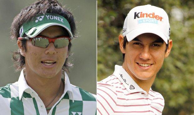 Ryo Ishikawa and Matteo Manassero