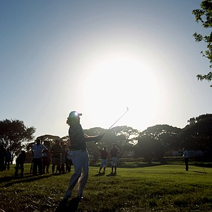 Thomas Aiken during the first round of the Africa Open.