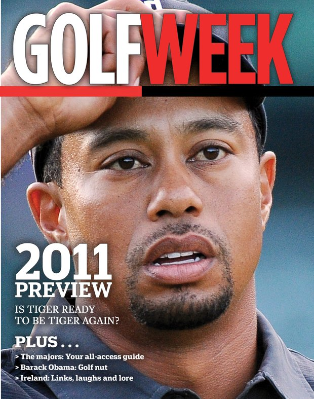 Season Preview 2011 issue (Tiger Woods, Jan. 5)