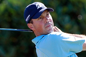 Matt Kuchar hits a shot on the 1st hole during the third round of the Hyundai Tournament of Champions at the Plantation course on January 8, 2011 in Kapalua, Hawaii.