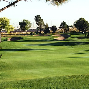 The University of New Mexico's Championship Golf Course.