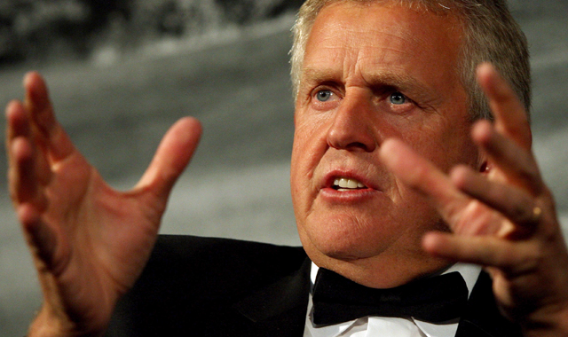 Insert new trophy here, says Colin Montgomerie.
