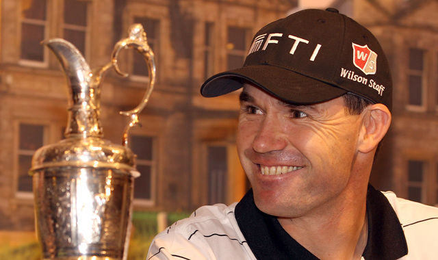 Padraig Harrington announcing his new role with the R&A.