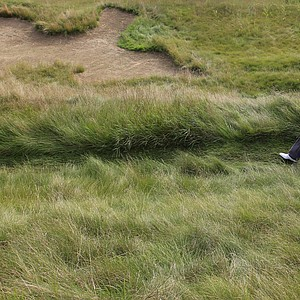 Bubba Watson makes his way to the eighth tee during the second round of the PGA Championship golf tournament Saturday, Aug. 14, 2010, at Whistling Straits in Haven, Wis.