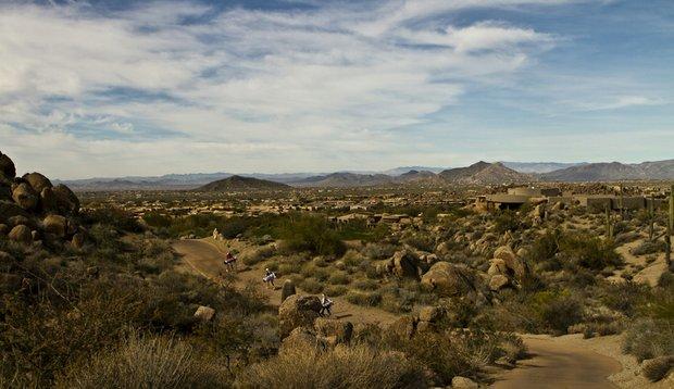 View of Troon North in Scottsdale, Ariz., during the Golfweek West Coast Junior Invitational.