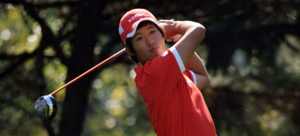 Han Chang-won of South Korea