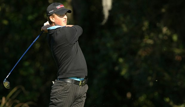 Jason Roets during the 2010 Golfweek Junior Invitational.