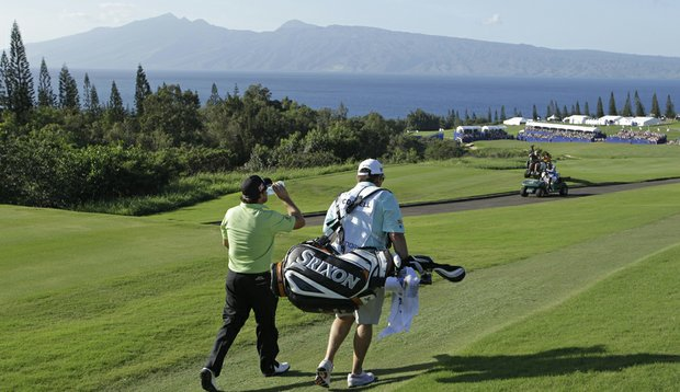 Graeme McDowell during the 2011 season-opener in Kapalua, Hawaii.