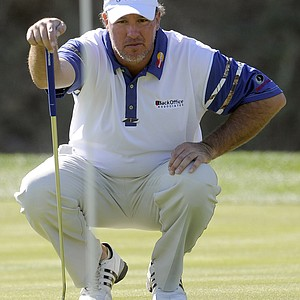 Boo Weekley shot an even-par 72 in the third round of the Bob Hope Classic.