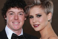Rory McIlroy and Holly Sweeney at the 2010 Ryder Cup formal dinner.
