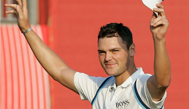 Martin Kaymer after winning the Abu Dhabi Championship.