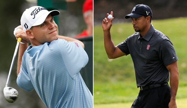 Bill Haas and Tiger Woods