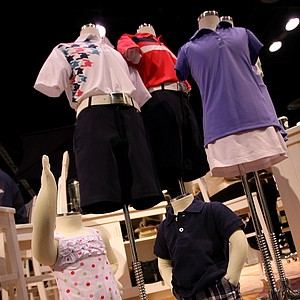 The Garb apparel line features sports-inspired clothing for infants, toddlers and children. Garb carries golf- and tennis-specific clothing, as well as clothes with college, NASCAR, NBA and NHL logos.