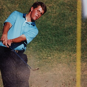 Phil Mickelson during his 1990 season at Arizona State University.