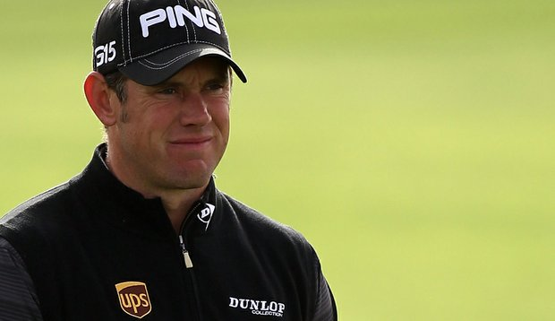 Lee Westwood of England during the first round of the Commercialbank Qatar Masters.