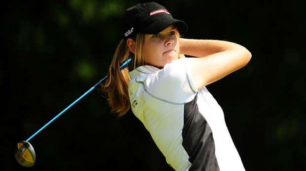 Canada's Maude-Aimee LeBlanc, who helped Purdue win the 2010 NCAA Women's Championship, no doubt will own a spot in the new women's amateur ranking.