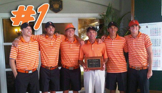 Oklahoma State won the Ameri Ari Invitational last week, claiming the top spot in the Golfweek/Sagarin College Rankings.
