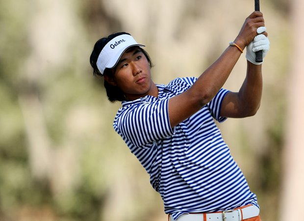 Florida's Phillip Choi during the final round. Choi finished T2 after a playoff.