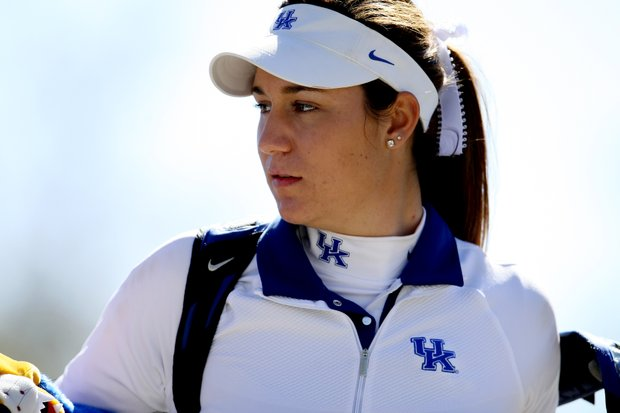 Ashleigh Albrecht of Kentucky shot a 70 in Rd. 2 for a two-day total of 136.