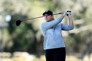 Jessica Alexander of Coastal Carolina posted a 9-under to take the lead from Kentucky's Ashleigh Albrecht after Rd. 2.
