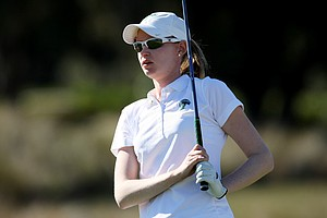 Tulane's Janine Fellows during the second round. Fellows shot a 77 in Round 2.