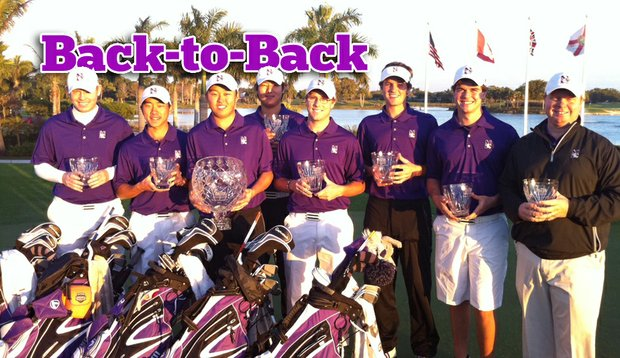 The Northwestern men won their second straight Big Ten Match Play Championship this weekend.