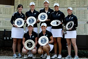 Coastal Carolina, the Chanticleers, won the UCF Challenge by one stroke.